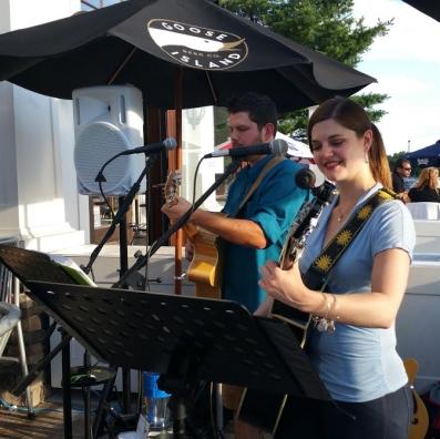 Merrill & Jonny at Bobby V's - 6/26/15