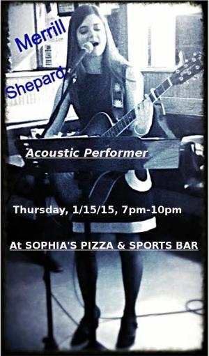 Sophia's January promo poster