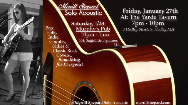 Music this weekend!