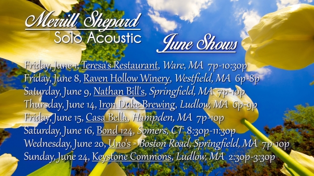 June Shows 2018