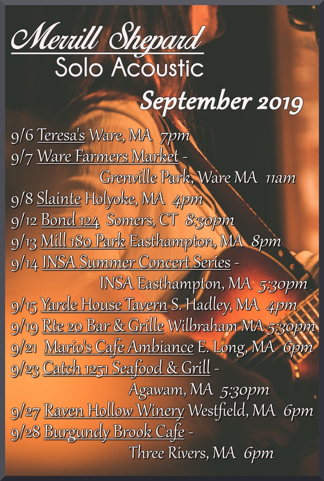 SEPT SHOWS 2019