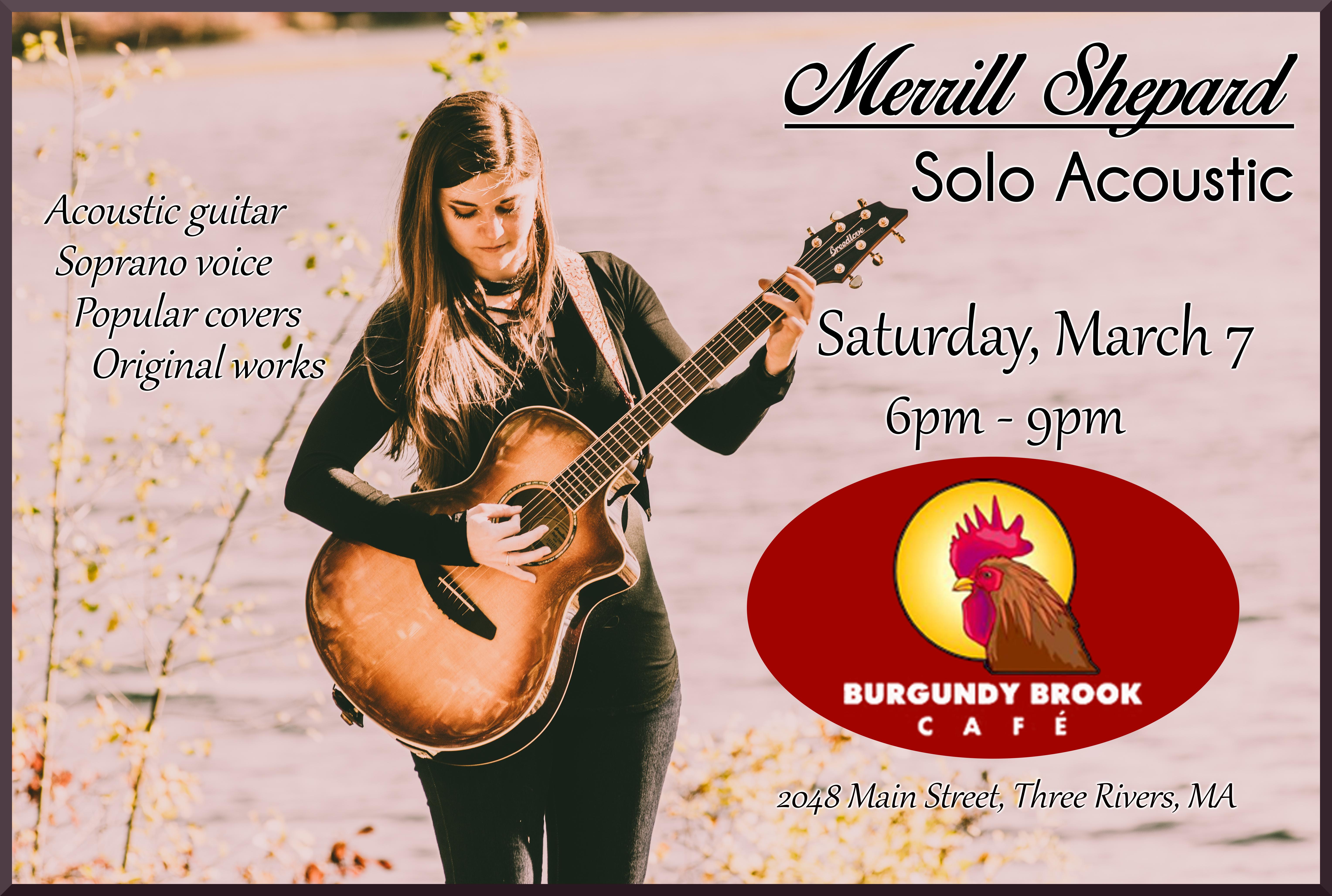 Burgundy Brook Cafe 3-7-20